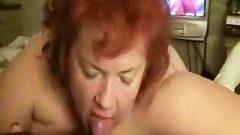 Red A Blowjob Mature Bum Licking
