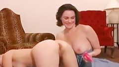 Super Naughty Lesbian Ass-Hole Licking And Pussy Stuffing