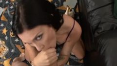 Brunette Honey Andy Asshole Licking In Pow View Cum Shot