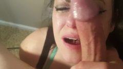 Wifey_Blows_Best Blow Job And Rimjob For Massive Facial Cum Shot