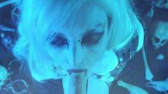 Lady Death Cosplay Bum Eating POV Blow Job Rimming blowjob