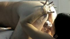 Slave MissLawanda Cleans Master 2