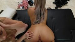 Nasty 21 Year Old With AMAZING Bubble Bum Seduced During An Audition