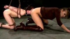 Asshole Licking Lesbian Slave