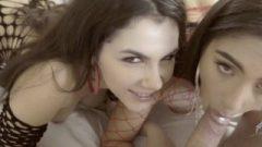 Threesome Huge Asses Nailing And Rimjob In Fishnet Valentina Nappi & Trukait