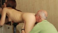 Pervert Old Dude And Mature Slut And Old Chick Nubile Dude And Piss Rim Old